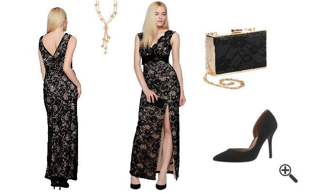 italienischer Stil Lange Italienische Abendkleider Online bestellen