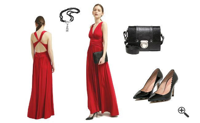 Abiball Outfit Schöne Abiballkleider Rot Lang