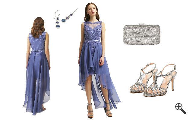 Abschlussball Outfit Schöne Abschlusskleider 2016 Blau