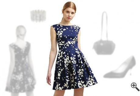 Closet Kleider Navy Blau Online Kaufen