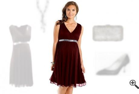 Festliche Kleider für Schwangere zur Hochzeit