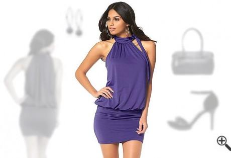 Festliche kleider für kleine Frauen mit Bauch