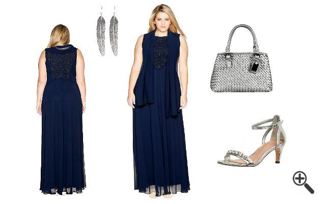 Festliches Outfit für Mollige Festliche KleiderXXL Hochzeit
