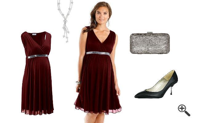 Outfit fürSchwangere Festliche Kleider für Schwangere zur Hochzeit