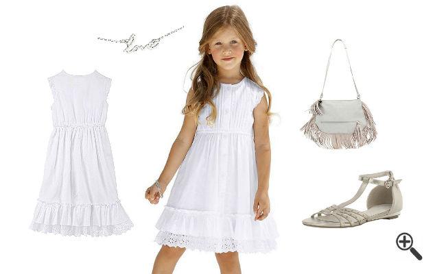 Schöne Outfit Ideen Festliche Kleider für Blumenkinder Hochzeit