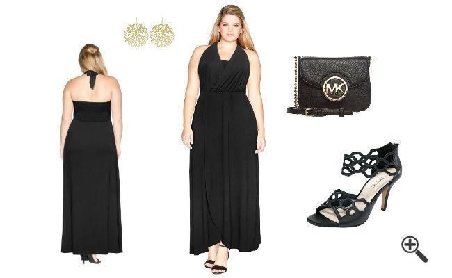 schöne Sommer Outfits Sommer Maxikleider XXL