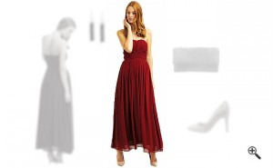 | Rotes Abendkleid in Lang kombinieren + 3 Rote Outfits ...