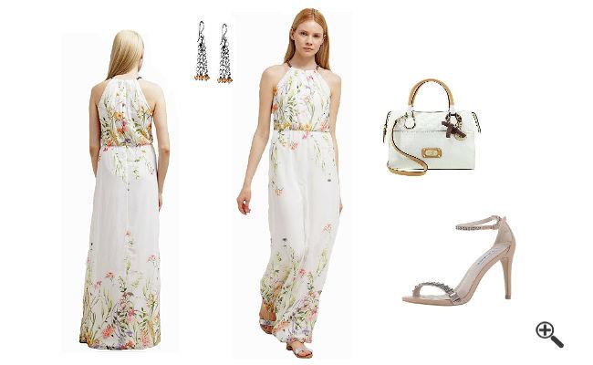 Sommer Outfits 2016 Festliche Sommerkleider Lang Weiß