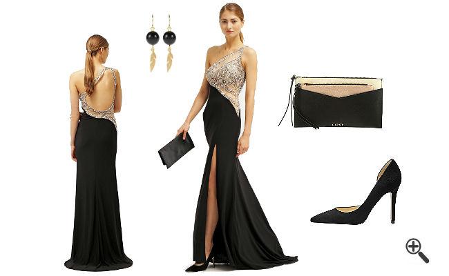 Figurbetonte Kleider Lang schöne Outfit Ideen