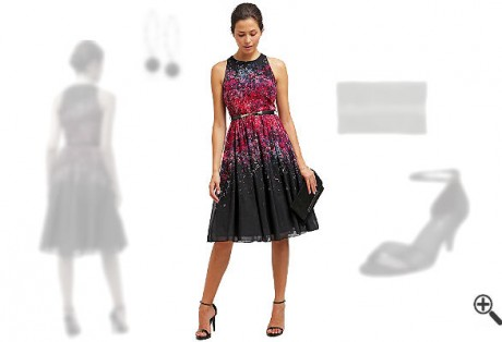 Lange Damenkleider Elegant