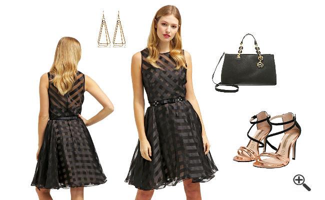 Marchesa Notte KleiderSchwarzes Outfit Ideen