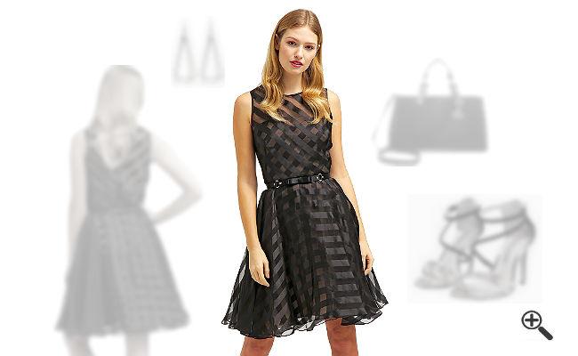 Marchesa Notte KleiderSchwarzes Outfit