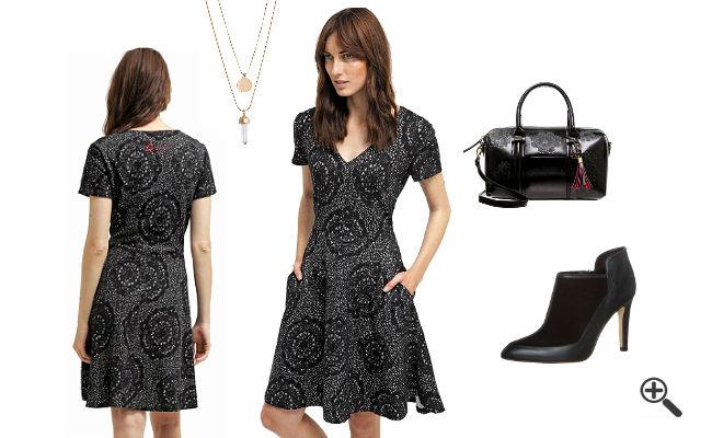 Outfit Ideen Reduzierte Kleider von Desigual Schwarz