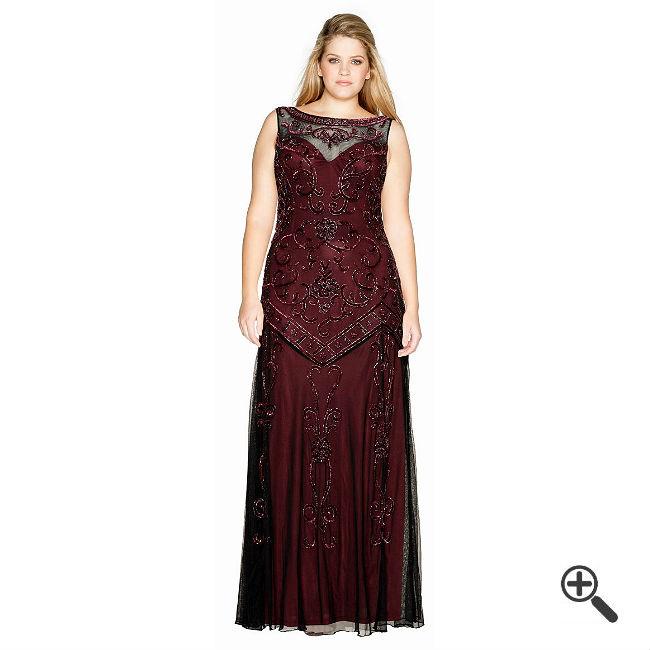   Lange Abendkleider für mollige Damen + 3 Abend Outfits ...
