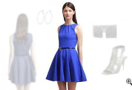 Blaues kleidkombinieren Blaue Outfits