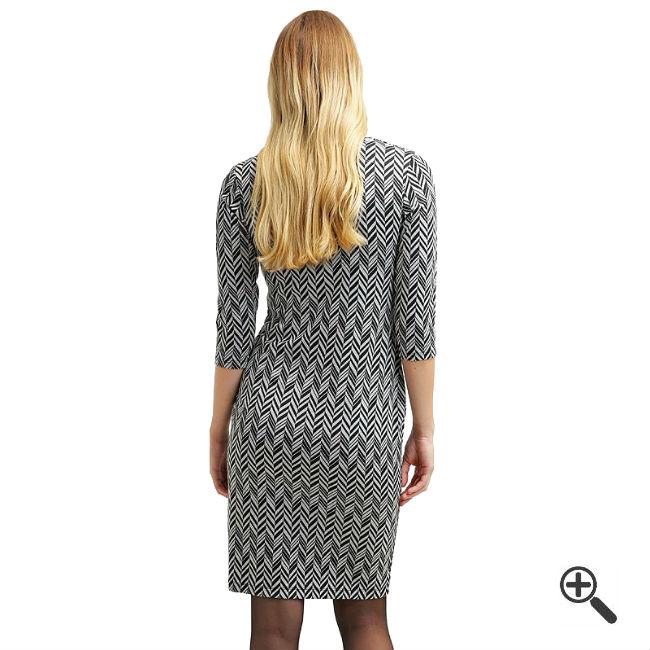 | Elegante Kleider mit 3/4 Arm in knielang + 3 Schicke ...