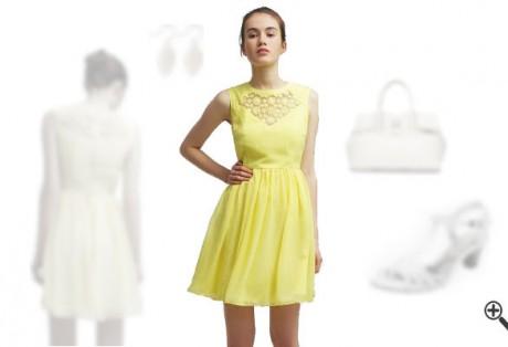 Gelbes Kleidkombinieren Gelbe Outfits