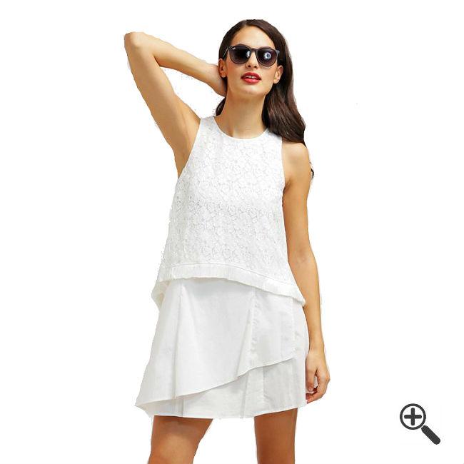 Kleider Empire Stil Weiß