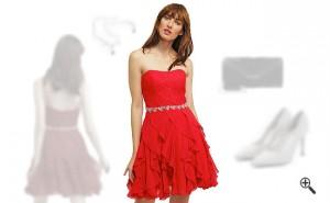 Kleider Trägerlos Party Outfit Ideen