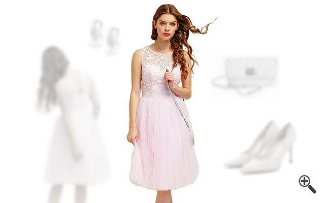 Kleider für Hochzeitsgäste schicke Outfits