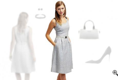 Leinenkleider Sommer Outfits