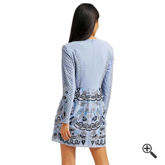 Needle Thread Kleider Blau