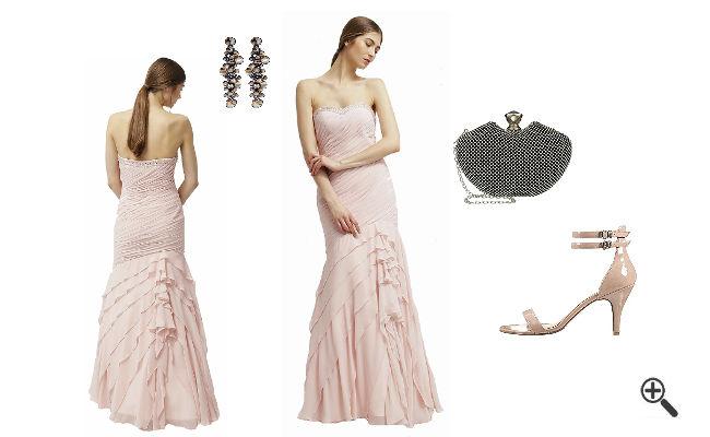 RosaAbendkleid LangkombinierenRosa Outfits