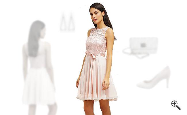 Rosa Kleid kombinierenRosa Outfits