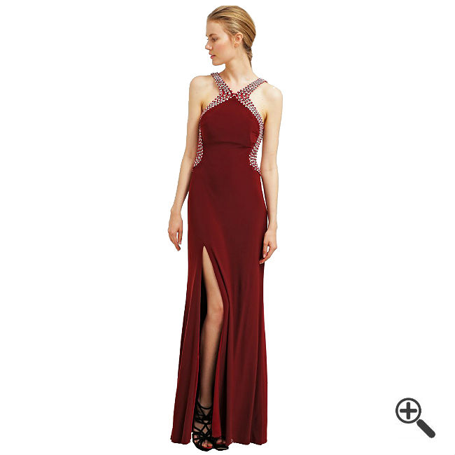 Rotes Abendkleid Lang