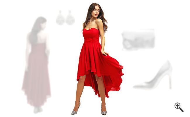 Rotes Cocktailkleidkombinieren Rote Outfits