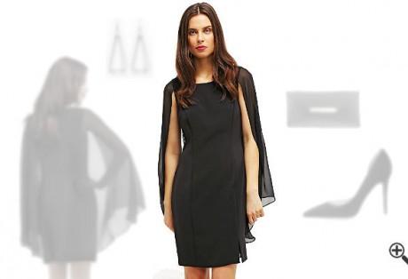 Schwarzes Kleid kombinierenSchwarze Outfits