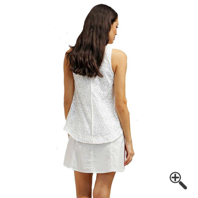 Weiße Kleider Empire Stil