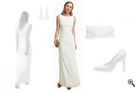 Weißes Abendkleid Langkombinieren Weiße Outfits
