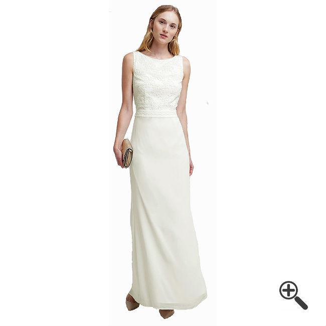 Weißes Abendkleid Lang