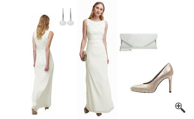 Weißes Abendkleidkombinieren Weiße Outfits