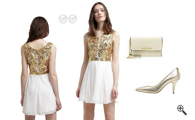 Weißes Kleid kurz kombinieren Weiße Outfits