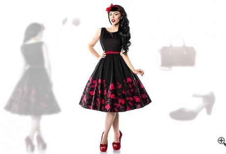 Petticoat Kleid 50er Rockabilly Outfit