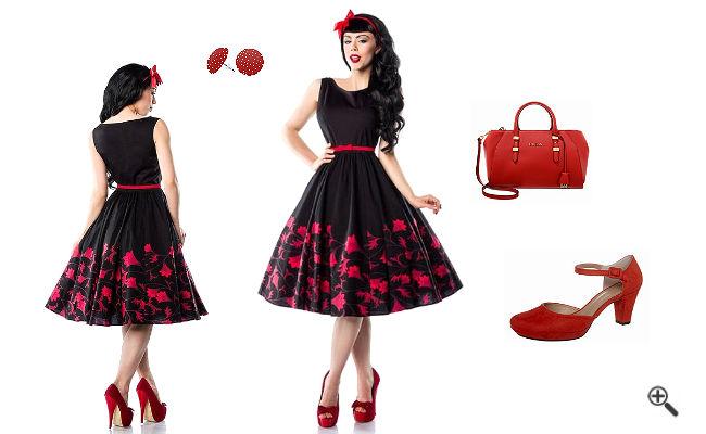 Petticoat Kleid 50er Rockabilly Outfit Tipps
