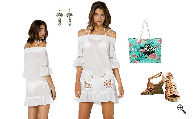 Strandkleider kurz Sommer Outfits