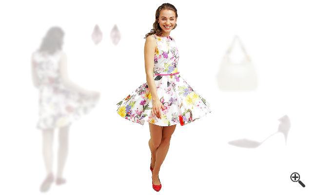 Bunte Kleider Hochzeit Schicke Outfits