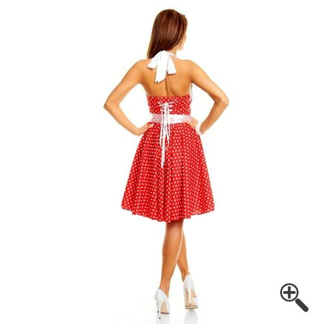Rockabilly Kleid Rot