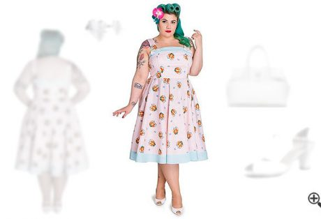 Rockabilly Kleider in XXL + 50er Outfits für Luka