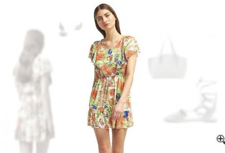 Schöne Strandkleider Sommer Outfit