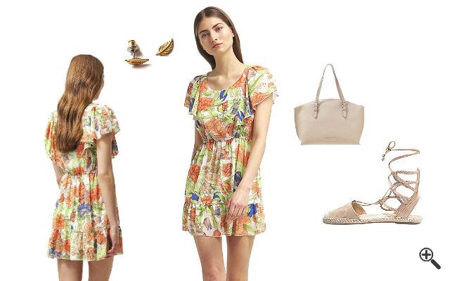 Schöne Strandkleider Sommer Outfits