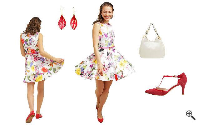 Schöne bunte Kleider Hochzeit Schicke Outfits