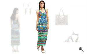 Strandkleider Maxi Sommer Outfit