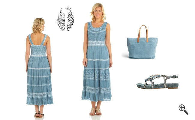 Strandkleider Mollige Sommer Outfit