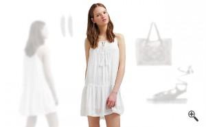 Strandkleider Weiß Sommer Outfit