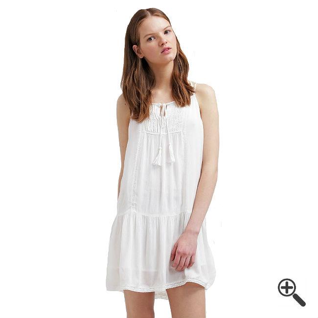 Weiße Strandkleider