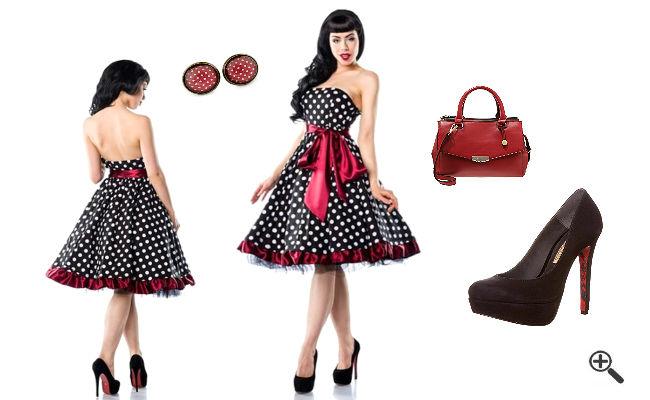 50er Jahre Kleider Vintage Outfits